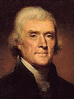 thomas jefferson government fears people liberty people fear government tyranny