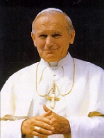 a biography of karol jzef wojyla the pope john paul Pope john paul ii served as pope and sovereign of the vatican city state from   karol józef wojtyła was born in the polish town of wadowice he was the  youngest of three children born to karol wojtyła (1879–1941),.